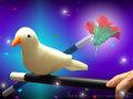 鳩と花と魔法の杖
