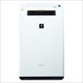 シャープ KI-FX75-W/ホワイト系 PM2.5対応加湿空気清浄機(空清34畳まで/加湿21畳まで) 「プラズマクラスター25000」搭載