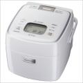 三菱 NJ-SE069-W/ホワイト IHジャー炊飯器(3.5合炊き) 備長炭 炭炊釜