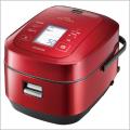 日立 RZ-AW3000M-R/メタリックレッド IHジャー炊飯器(5.5合炊き) 圧力スチーム炊き ふっくら御膳
