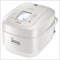 日立 RZ-AW3000M-W/パールホワイト IHジャー炊飯器(5.5合炊き) 圧力スチーム炊き ふっくら御膳