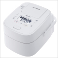 パナソニック SR-VSX108-W/ホワイト スチーム&可変圧力IHジャー炊飯器(5.5合炊き) Wおどり炊き