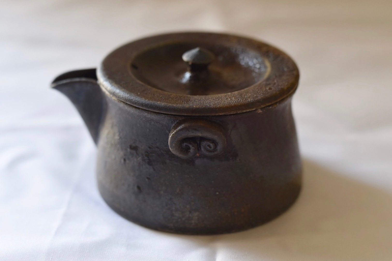 山本広巳作 焼〆宝瓶