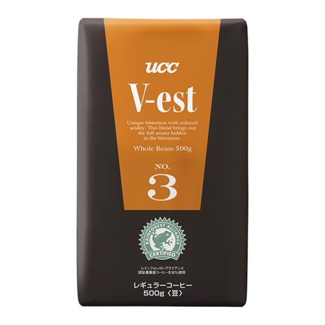 UCC)ヴェスト V―est NO.3 (豆)500g