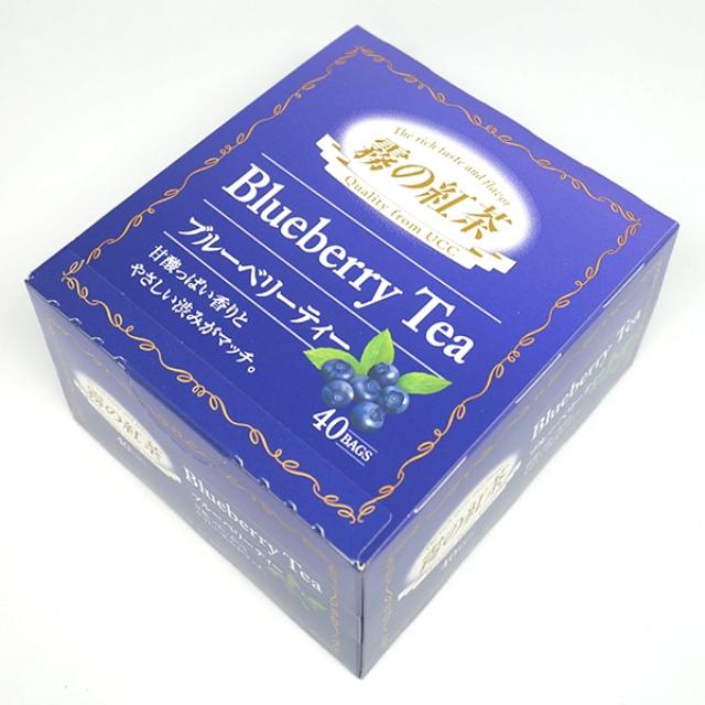 UCC)霧の紅茶 ブルーベリーティー ティーバッグ 40パック