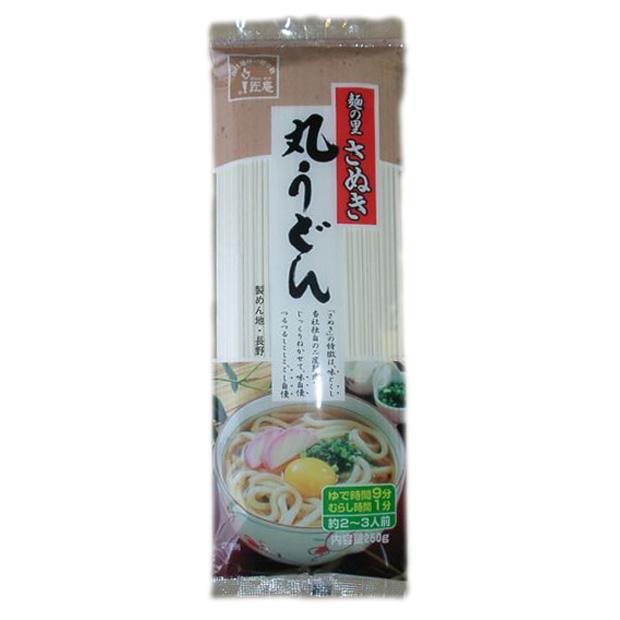 麺の里信州(長野) さぬき 丸うどん 250g