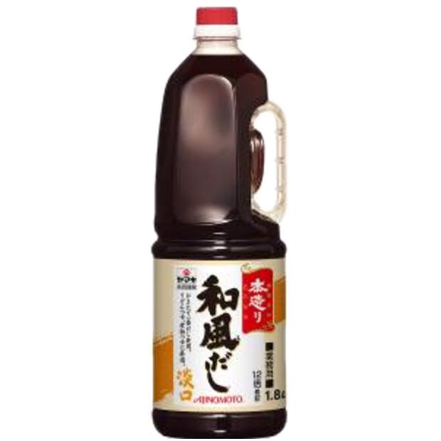 味の素) 「本造り」和風だし 淡口 1.8L