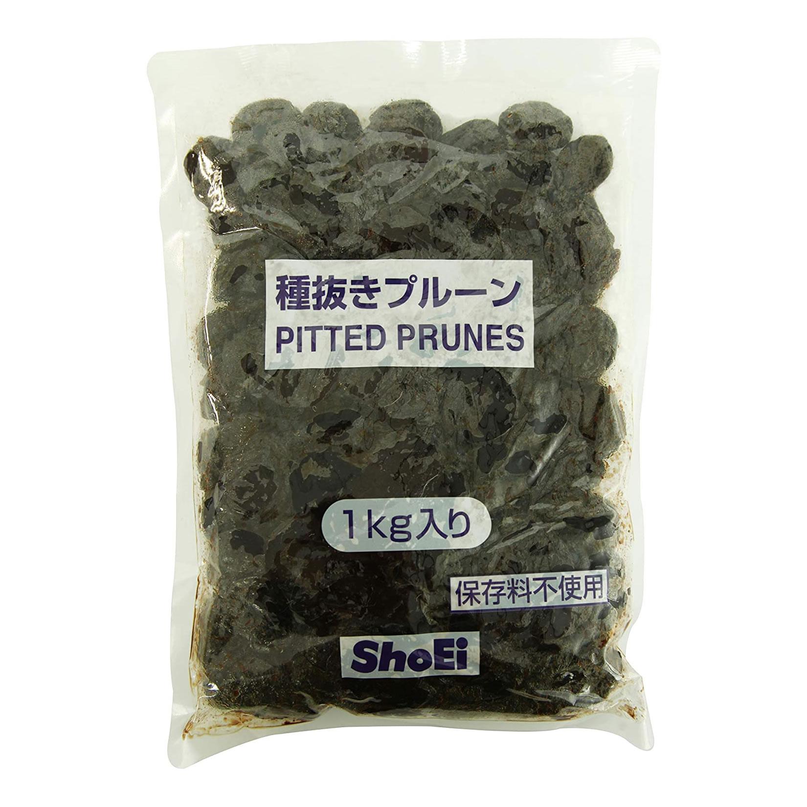 正栄) 業務用 種抜きプルーン 無添加 1kg