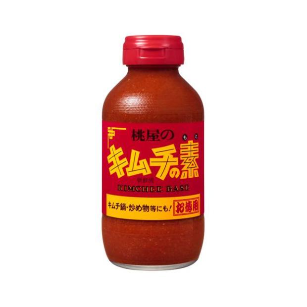 桃屋) キムチの素お徳用 450g