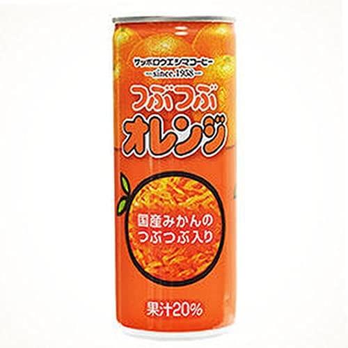 ウエシマ) つぶつぶオレンジ 250g*30缶入り