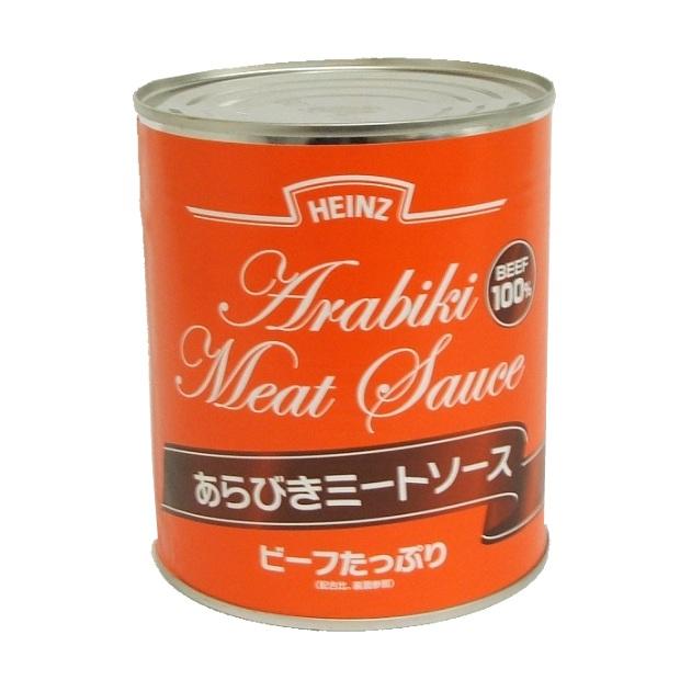 ハインツ) あらびき ミートソース 2号缶 820g
