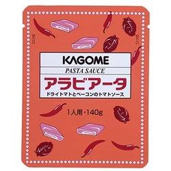 1人前パスタソース!カゴメ)アラビアータ(ドライトマトとベーコンのトマトソース) 140g