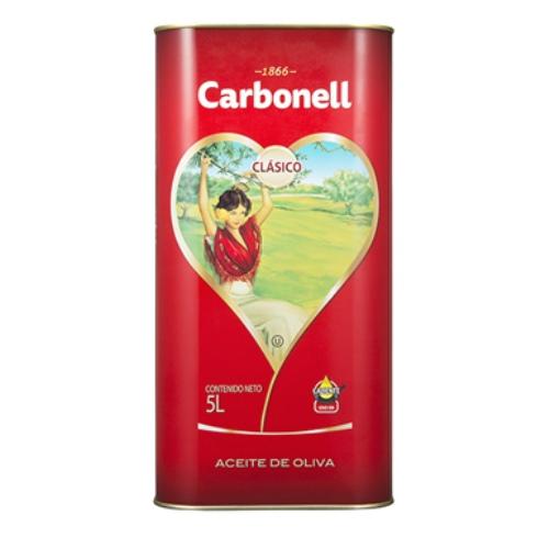 香りも穏やか!スペイン名門 カルボネール ピュア オリーブオイル 5L