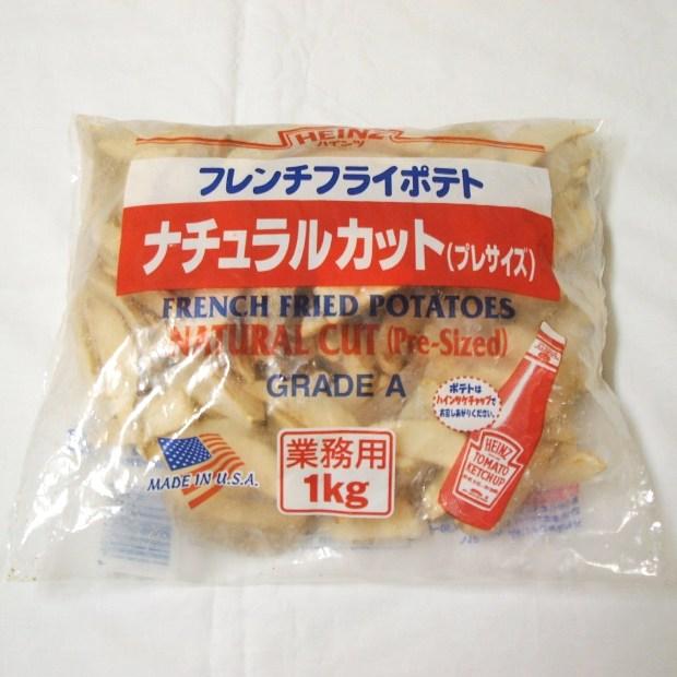 ハインツ) ナチュラルカットポテト 皮付き 1kg