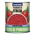 イタリア産 カゴメ)業務用 ダイストマト 2号缶 800g