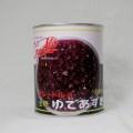 クレードル)北海道産 ゆであずき 粒あん 2号缶 1kg