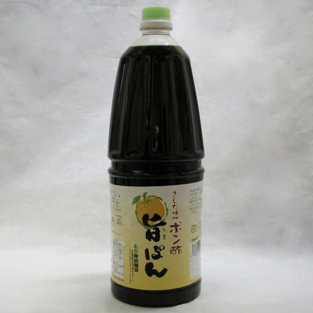 岸田)味付ポン酢 旨ポン 1.8L