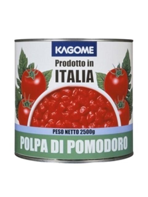 イタリア産 カゴメ)ダイストマト 1号缶 2500g