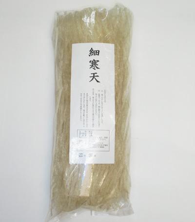 国内加工 細寒天 100g(加工地:長野県)