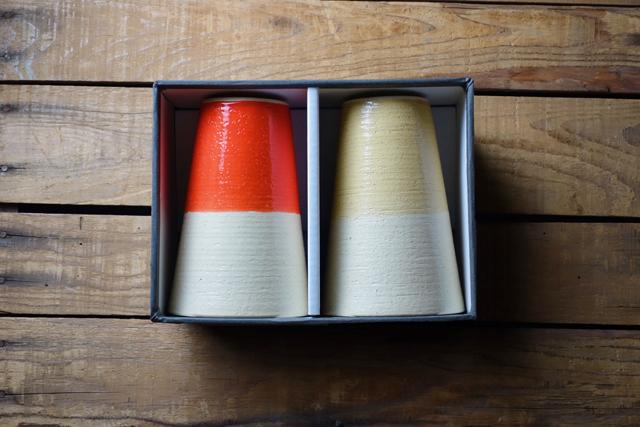 m.m.d. / ビアカップ / 2個セットギフトボックス付き / true colors line