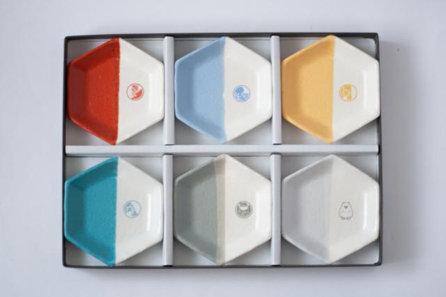 m.m.d. / 六角豆皿6枚セット / SPECIAL SET / 「映画 ギヴン」コラボ