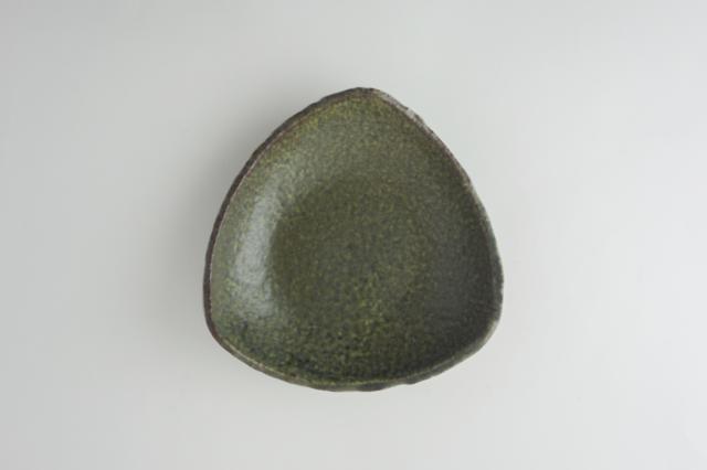 m.m.d. / 三角皿 大 / 緑結晶シリーズ