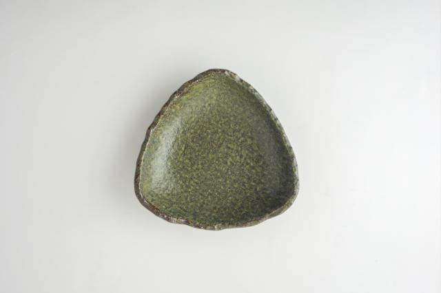 m.m.d. / 三角皿 中 / 緑結晶シリーズ