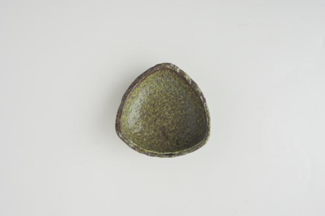 m.m.d. / 三角皿 小 / 緑結晶シリーズ