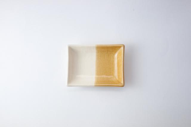 m.m.d. / 豆皿 / 黄彩 / true colors line