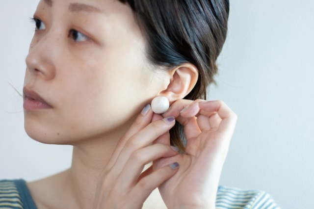 maison m.m.d. / mashroom earrings / セトえるアクセサリー