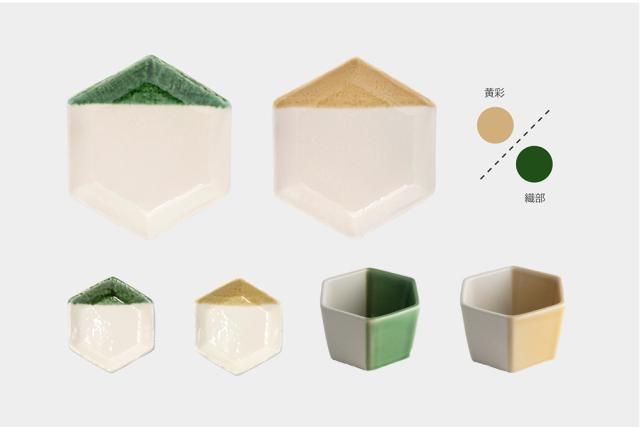 m.m.d. / 六角豆皿 + 小鉢 + 取皿セット / natural