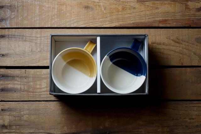 m.m.d. / マグカップ2個セット / ギフトボックス&熨斗付き / true colors line