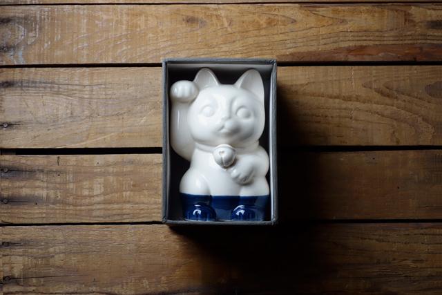 m.m.d. / 招き猫  / ギフトボックス&熨斗付き