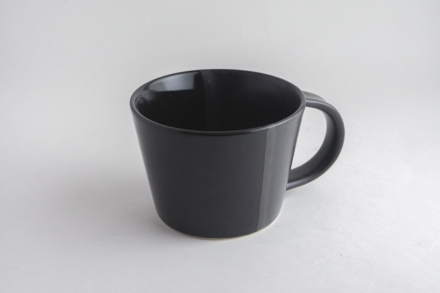 m.m.d. / マグカップ / ブラック / monochrome line