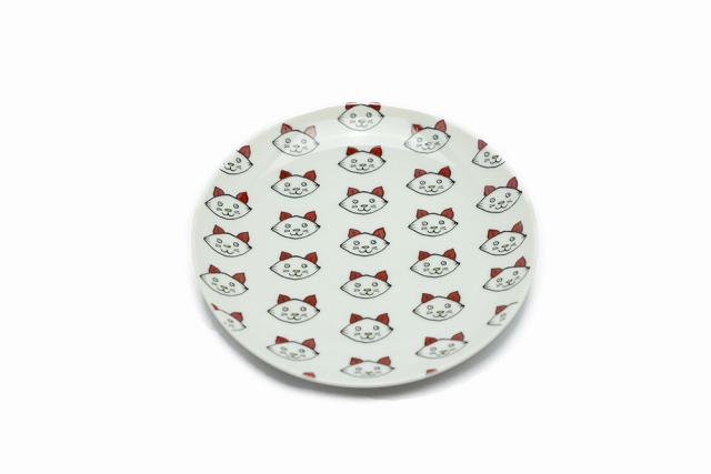 丸皿 / 子猫整列