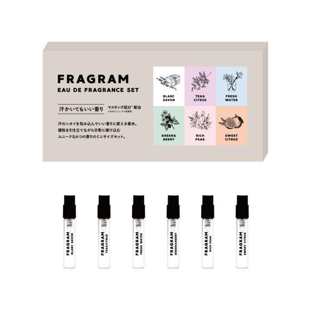 FRG_EC_shousai_2mLset_570_570.jpg FRAGRAM フレグラム ミニ香水セット 商品画像