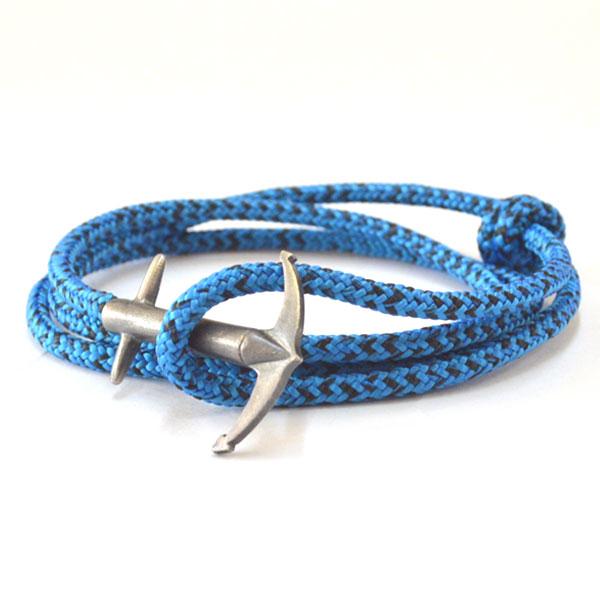 アンカーアンドクルー ANCHOR&CREW ロープブレスレット スターリングシルバー 925 ROPE BRACELET STERLING SILVER ADMIRAL BLUE