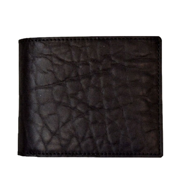 ズー ZOO ブルハイドレザー 二つ折り財布 BADGER BILLFOLD ZBF-015 BLACK