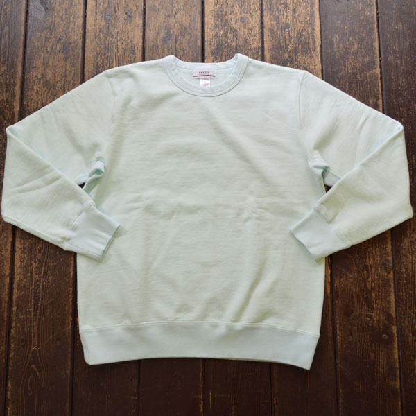 ベター BETTER ヘビーウェイト クルーネックスウェット HEAVY WEIGHT FLEECE CREW NECK PULL-OVER BTR2030 P.GREEN