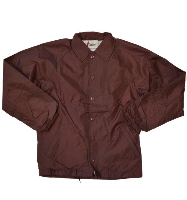 カーディナルアクティブウェア 【Cardinal Activewear】 コーチジャケット COACH JACKET BURGUNDY