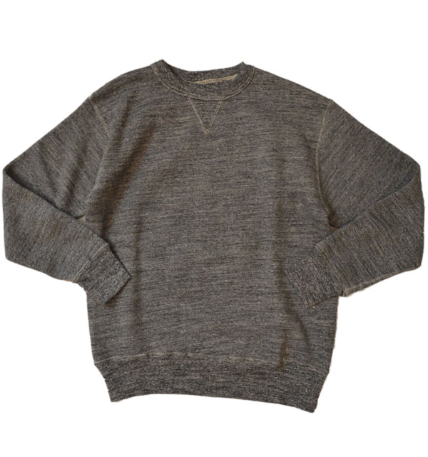ダブルワークス DUBBLE WORKS 吊り編み クルーネック スウェットシャツ TSURIAMI SWEAT SHIRT Lot.86001 CHARCOAL