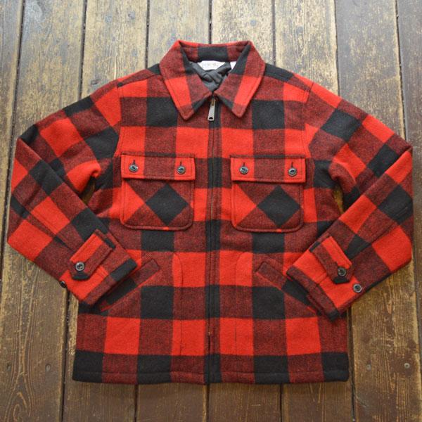 ファイブブラザー FIVE BROTHER オーセンティック シーピーオージャケット Authentic C.P.O. Jacket 150801 RED BLOCK