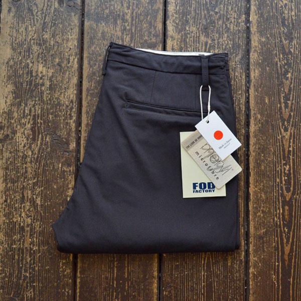 エフオービーファクトリー FOB FACTORY デパーチャー ストレッチイージーパンツ DEPARTURE PANTS F0455 CHARCOAL