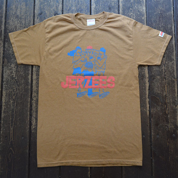 ジャージーズ JERZEES プリントTシャツ TA-ART BOYS Tee BEIGE