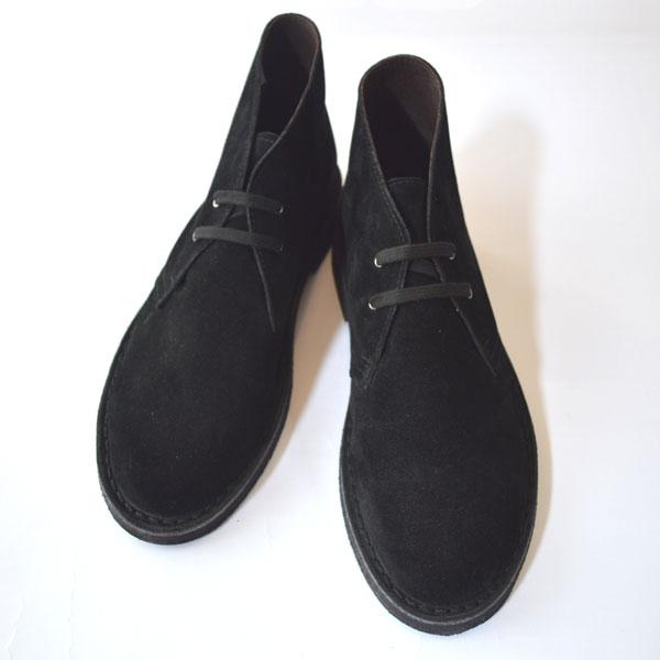 ケップス Kep's スエードデザートブーツ チャッカブーツ SUEDE DESERTBOOTS BLACK