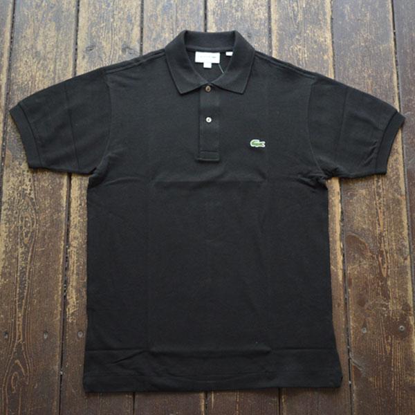 ラコステ LACOSTE フレンチラコ ポロシャツ L1212 BLACK