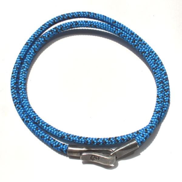 アンカーアンドクルー ANCHOR&CREW ロープブレスレット ROPE BRACELET LIVERPOOL BLUE
