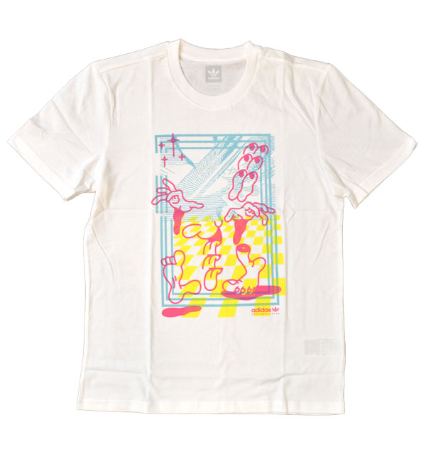 アディダス adidas MACRUM Tシャツ FUE46 WHITE