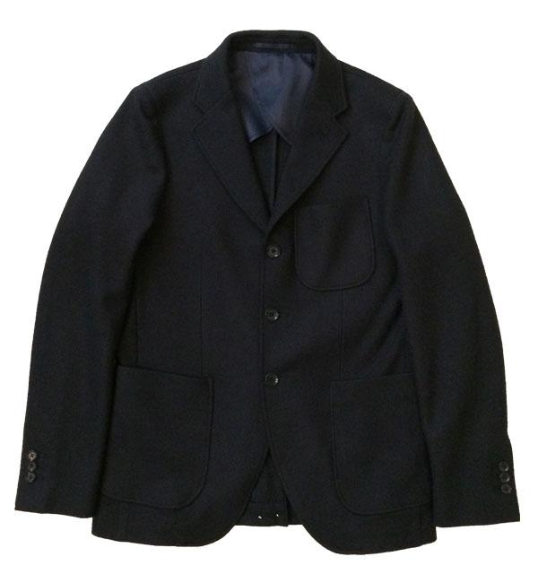アルブル 【arbre】 Tailored Jacket Boild Wool NAVY
