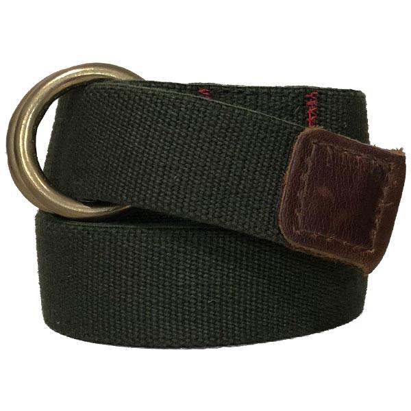 アーカイバルクロージング 【Archival Clothing】 ウェービング ベルト Webbing Belt OLIVE MADE IN USA